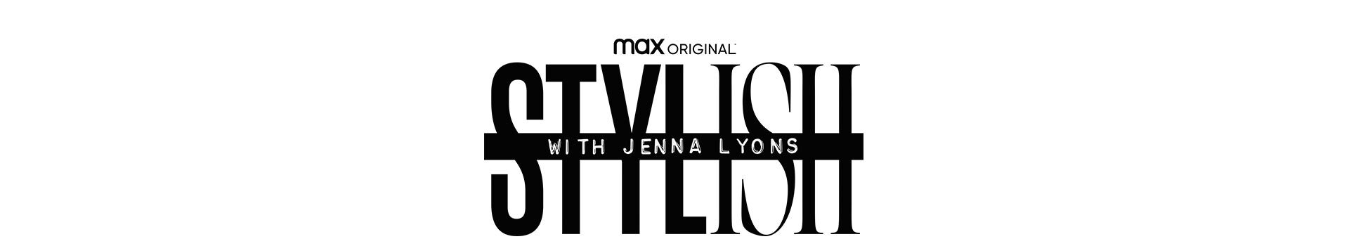 Stylish with Jenna Lyons Banner Logo with Max original