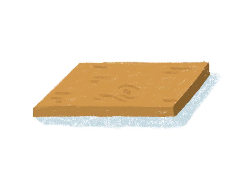 plywood illustration