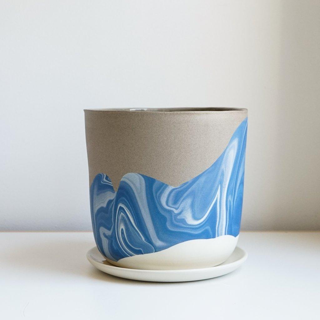Helen Levi ceramics beach planter