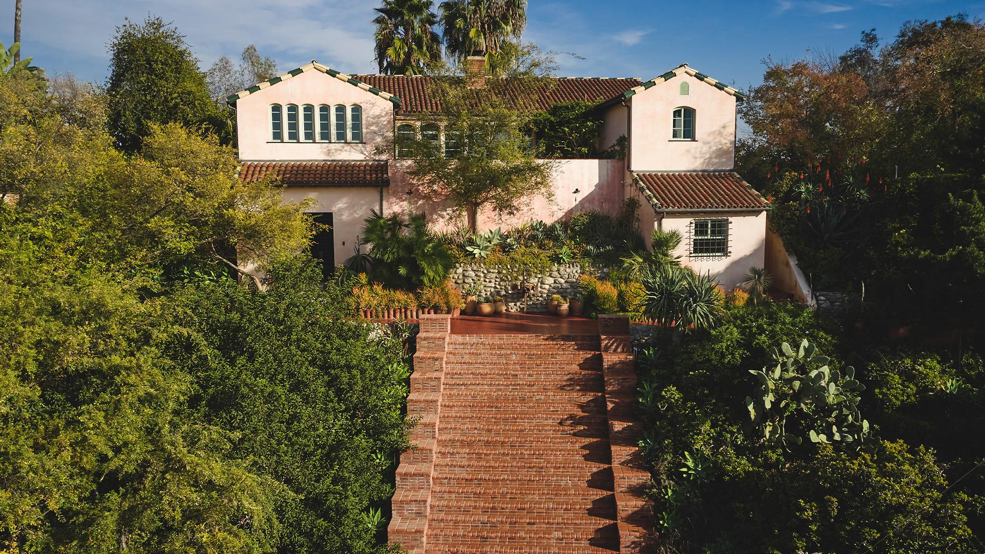 Stairs to Flamingo Estate